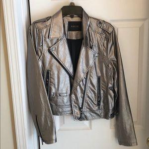 BlankNYC gold Moro jacket. M